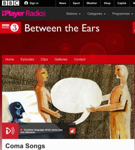 Our BBC Radio 3 programme