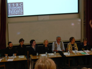 Expert Panel on Advance Decisions  - organised by Celia Kitzinger