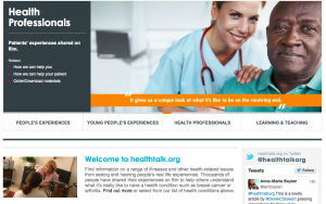 Our health talk online module