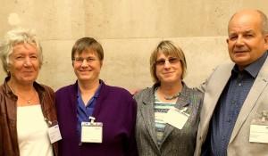 At the BMA award ceremony