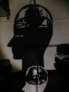 Puppet head & shadow