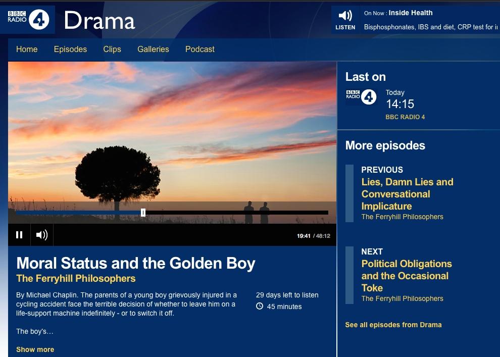 Moral Status & the Golden Boy